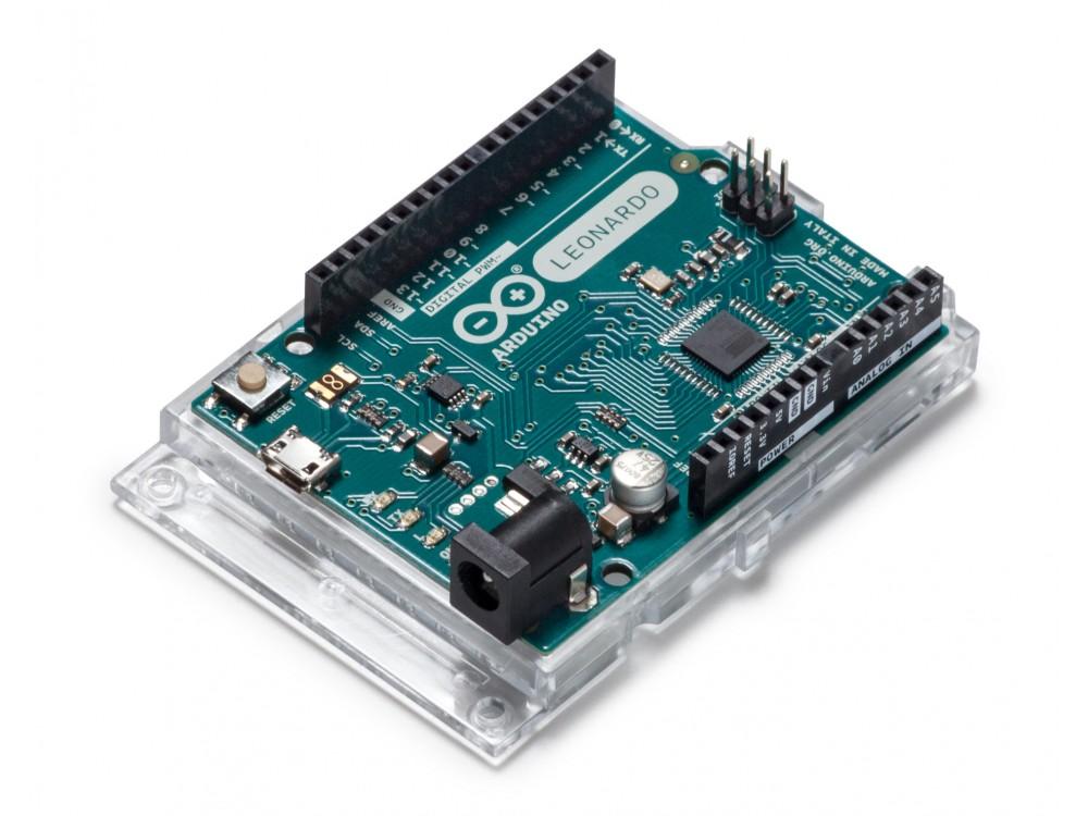 Arduino Leonardo Board Features USB Human Interface Device