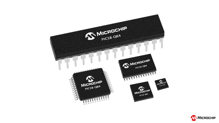PIC18F-Q84 Family of Microcontrollers