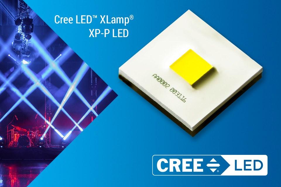 Cree LED XLamp® XP-P LEDs