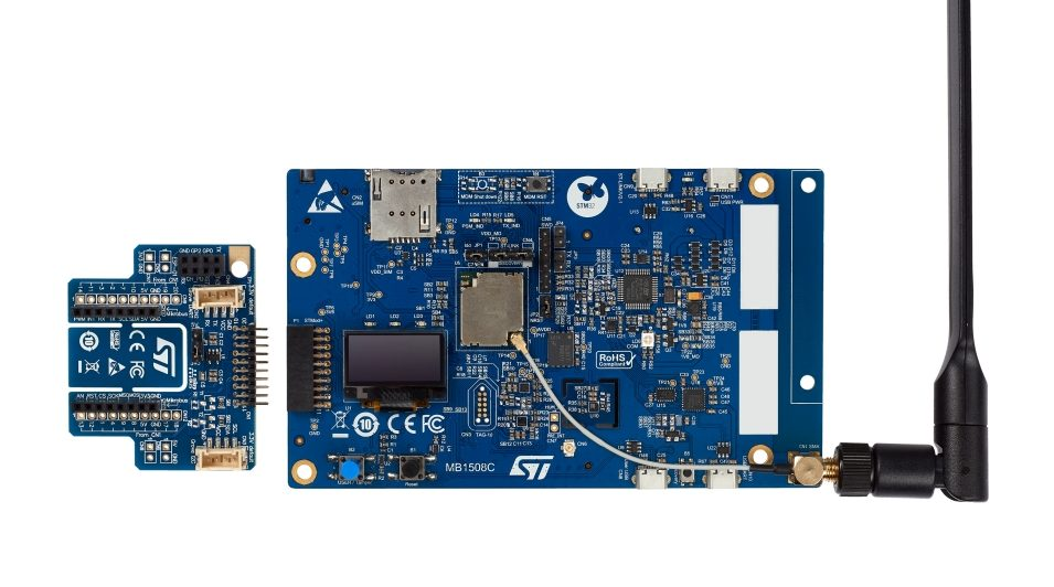 STM32 IoT Discovery Kit for Cellular Applications: B-L462E-CELL1