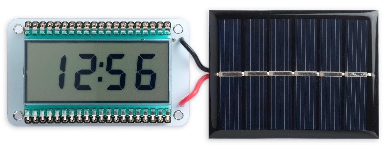 Low Power LCD Clock based on an AVR128DA48