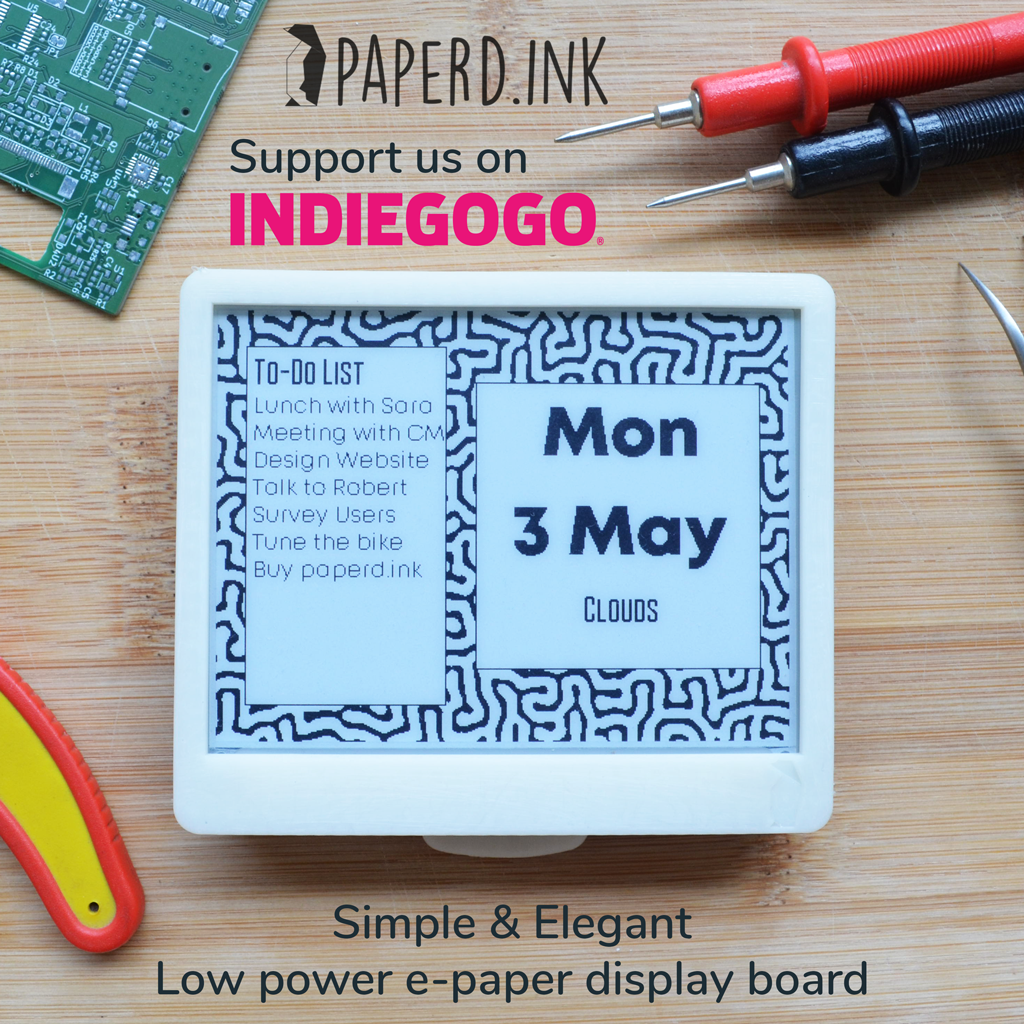 paperd.ink: Simple and Elegant E-paper development board