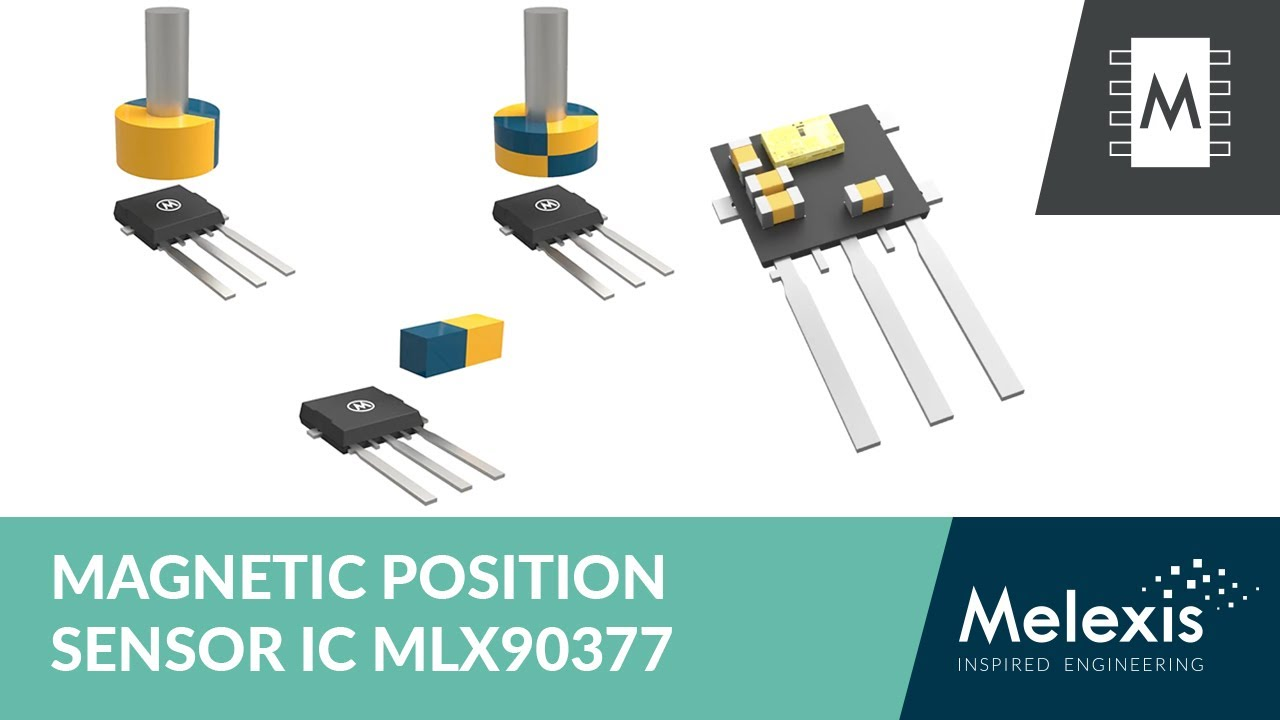 Melexis MLX90377 Triaxis Magnetic Position Sensors