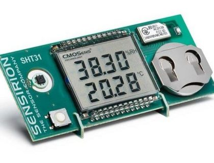 Sensirion SHT4x Smart Gadget measures Humidity a...