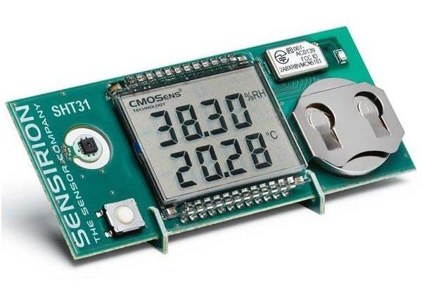 Sensirion SHT4x Smart Gadget measures Humidity and Temperature