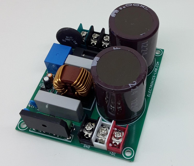 High Voltage DC Power Supply for intelligent Power Modules