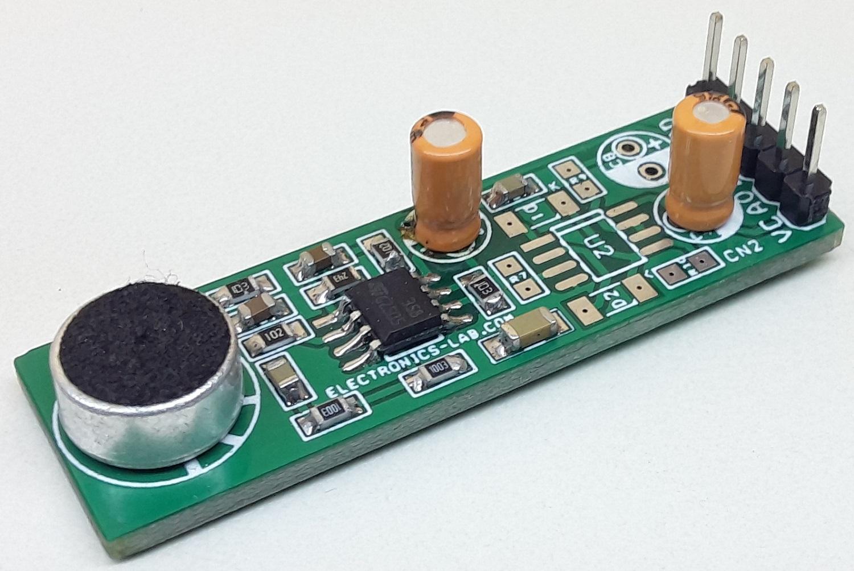 Microphone Preamplifier – Sound Sensor
