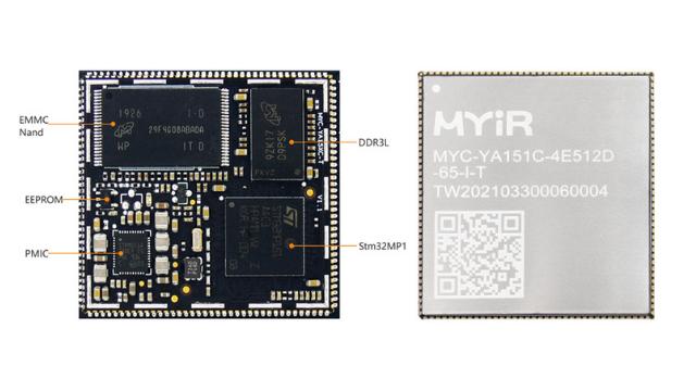 MYA15XC-T CPU module: MYIR's second tiny ARM SoM