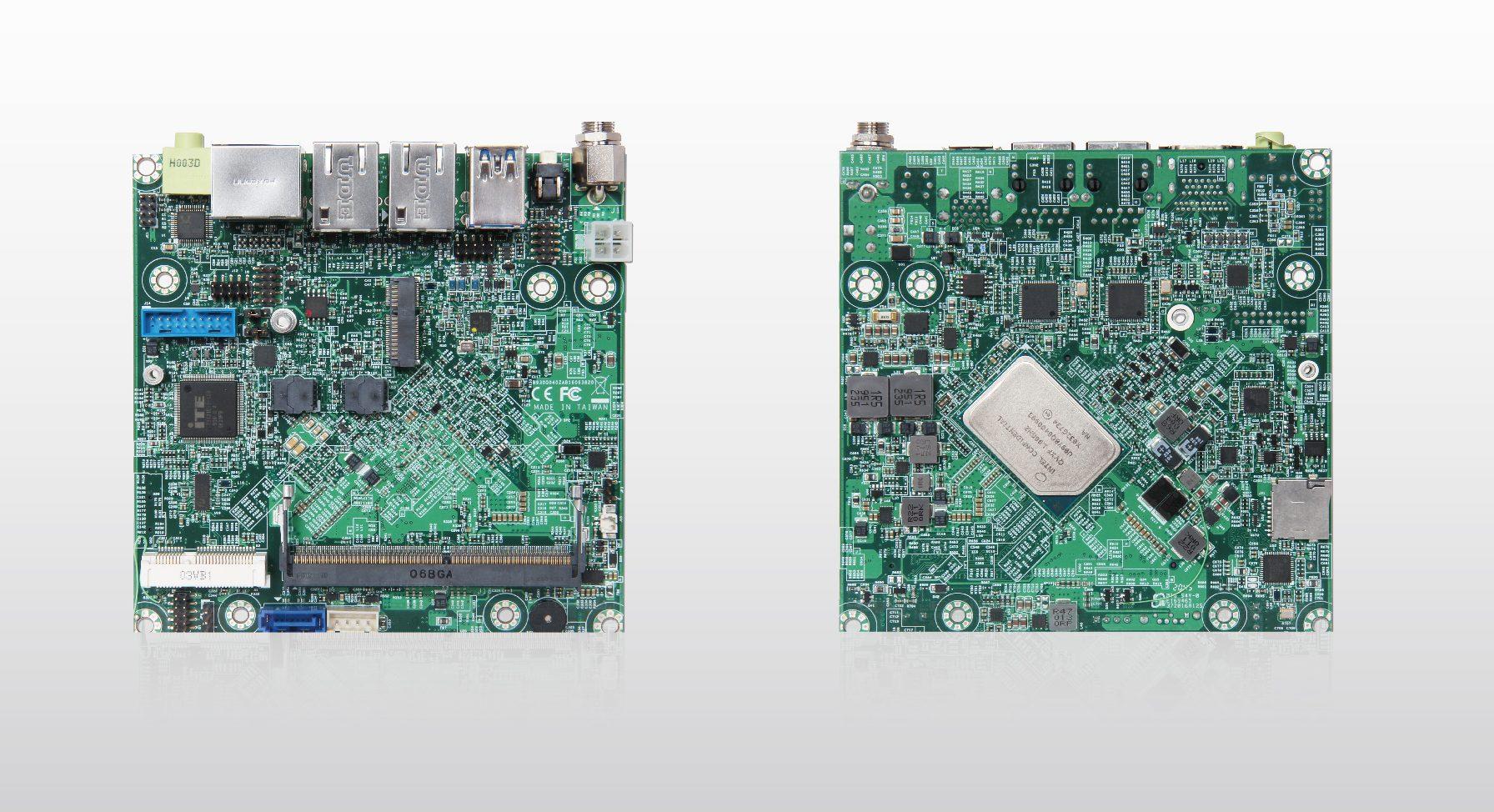 NANO-6063, the Latest NANO-ITX Embedded Board Powered by Intel Atom® x6000E Series Processors