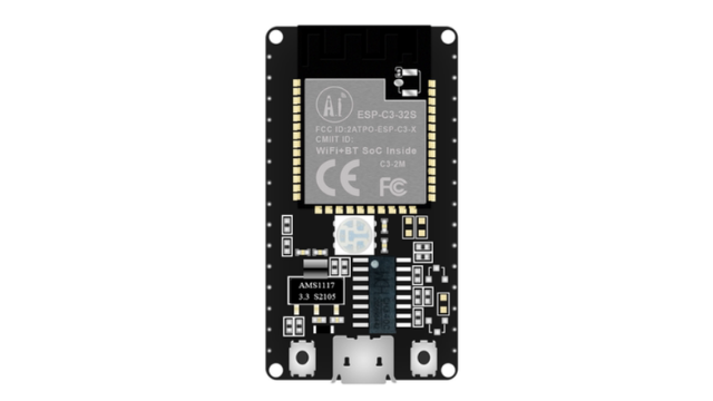 NodeMCU ESP32-C3 RISC-V based development boards, supports Wi-Fi and BLE