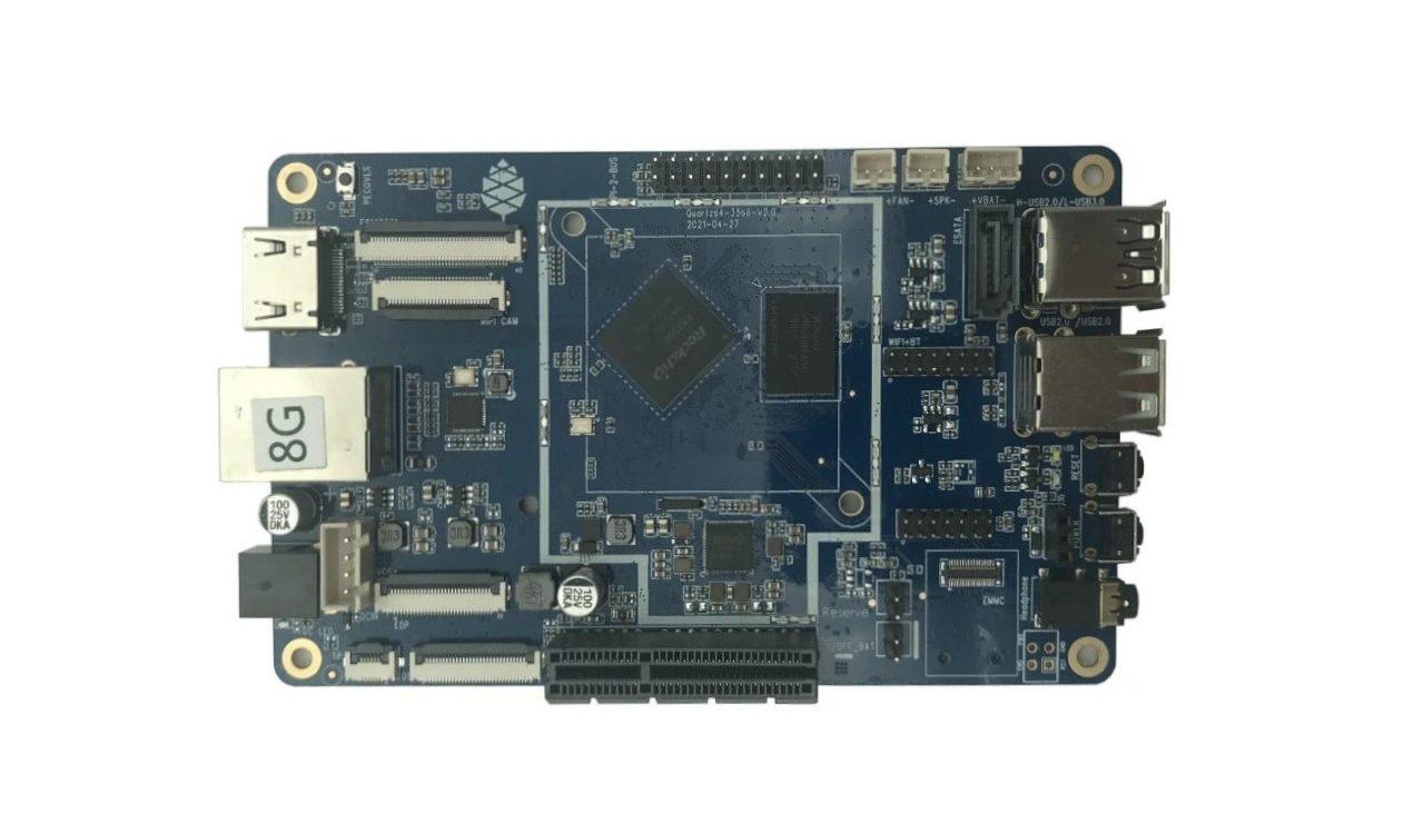 Quartz64 Model-A Board