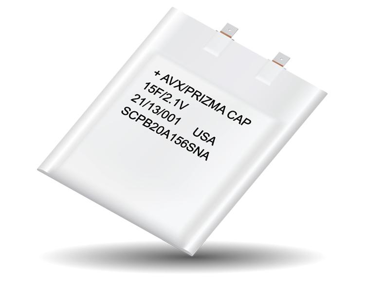 PrizmaCap SuperCapacitors launched