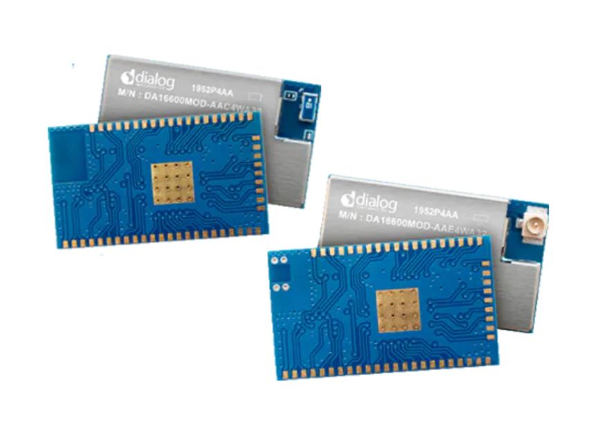 Dialog Semiconductor DA16600 Wi-Fi + BLUETOOTH Low Energy Modules