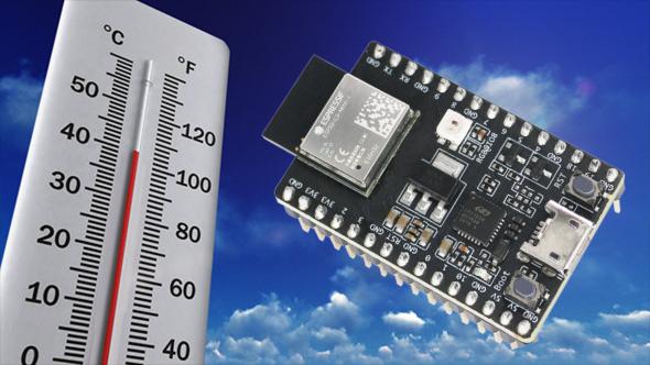 Temperature Sensing Tutorial With ESP32-C3-DevKITM-1 Using ESP-IDF