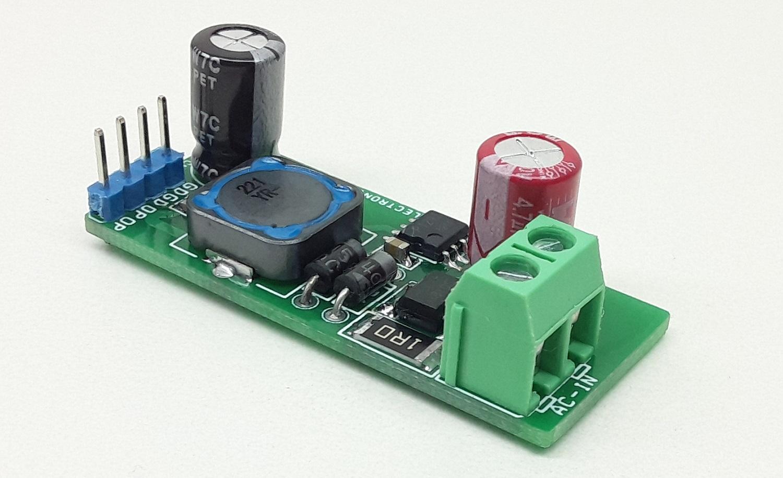 230V AC Input – 12V Output DC Converter, Non-Isolated Buck Converter