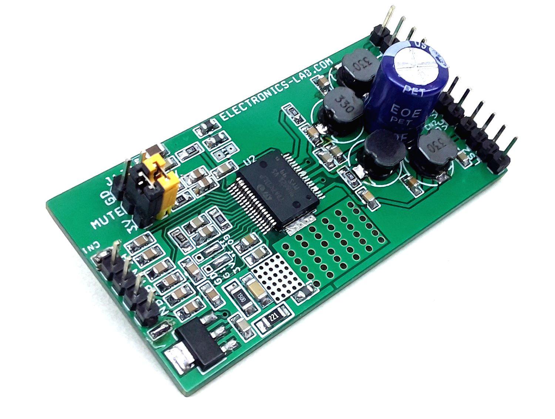 5 W + 5 W Dual BTL Class-D Audio Amplifier