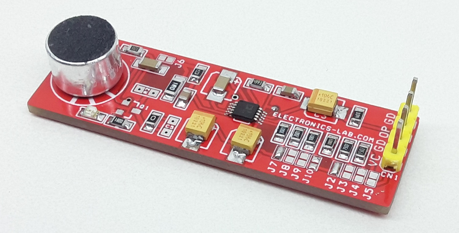 Low Voltage Microphone Preamplifier with Variable Compression and Noise Canceling