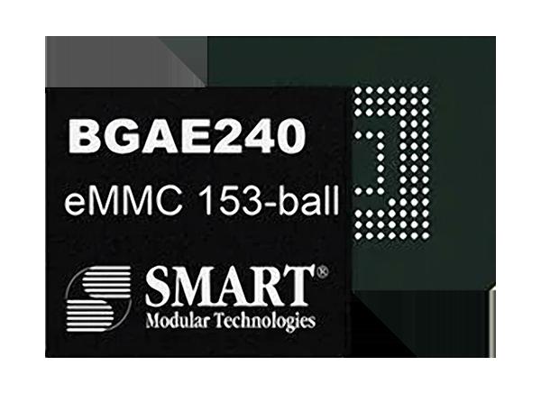 SMART Modular Technologies DuraFlash™ BGAE240 eMMC Memory