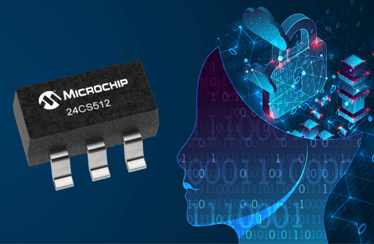 Microchip Introduces High-Speed Mode I2C Serial EEPROM with 128-Bit Serial Number