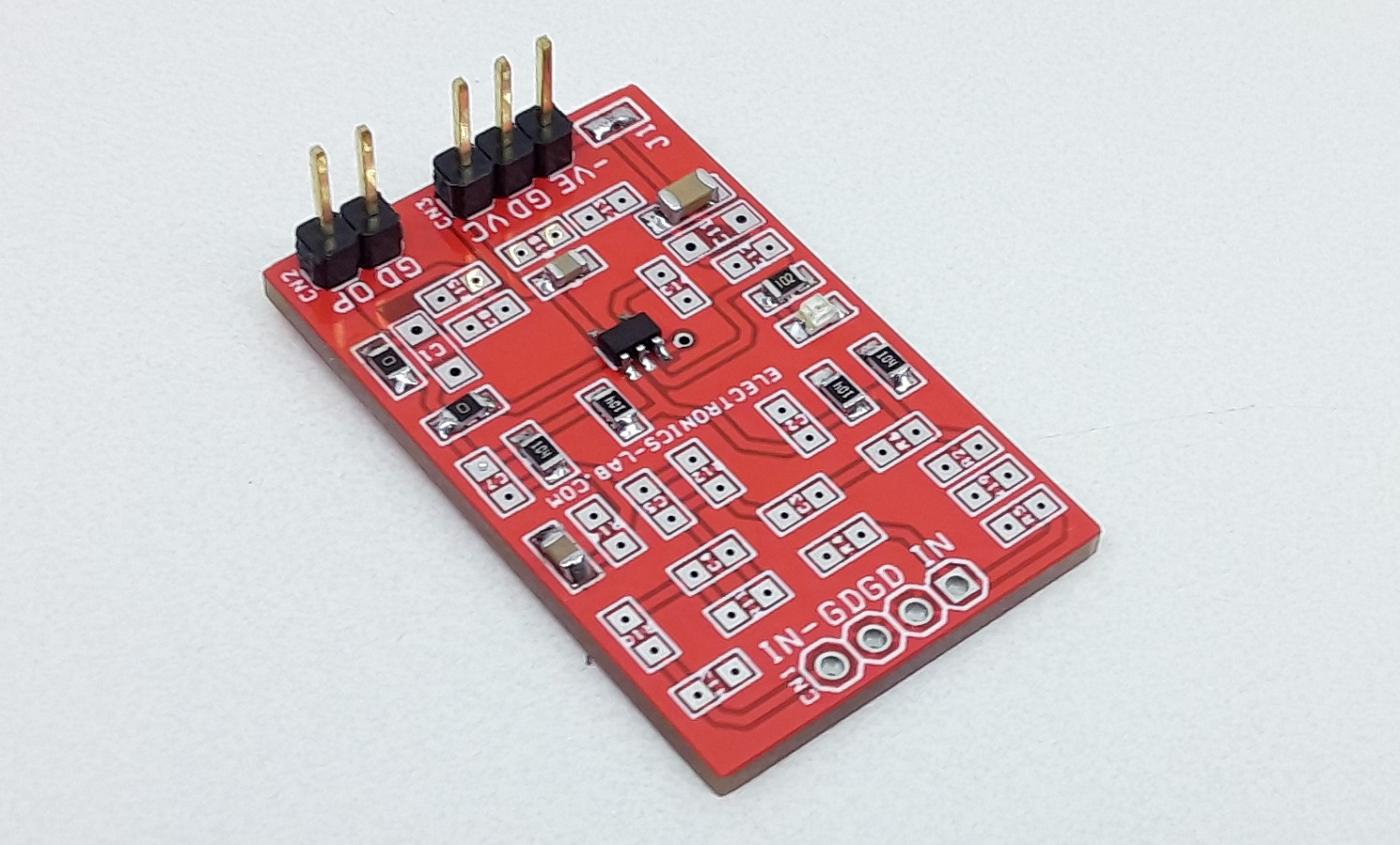 Universal OPAMP Board for SMD SOT23-5 Package