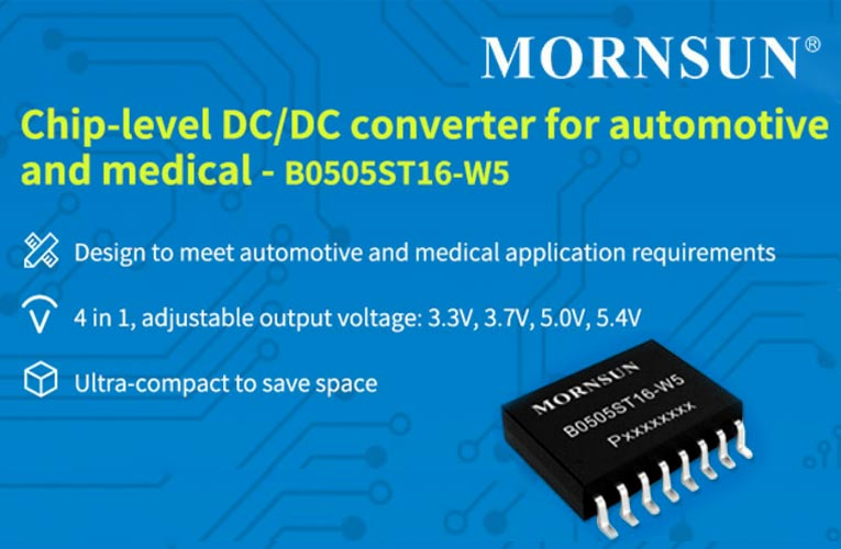Ultra-Small Chip Level DC/DC Converter to Meet Isolation Protection Requirements