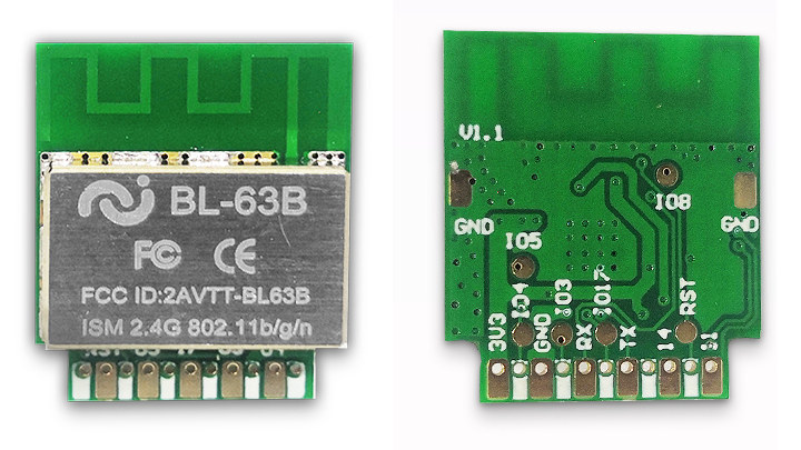 BL602 Microcontroller and $1.5 BL-63B IoT module