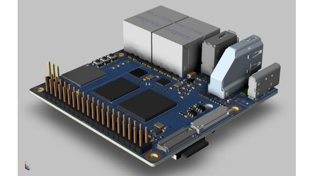 Banana Pi BMP-MS2 SBC with Amlogic A311D AI Application Processor