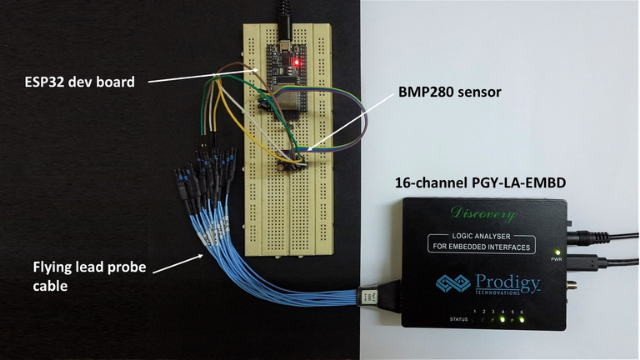 Prodigy Logic Analyser Hands-on Review Connections
