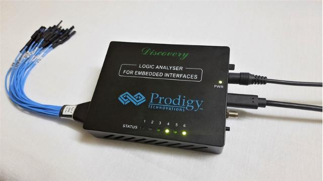 Prodigy PGY-LA-EMBD Logic Analyzer Hands-on Review