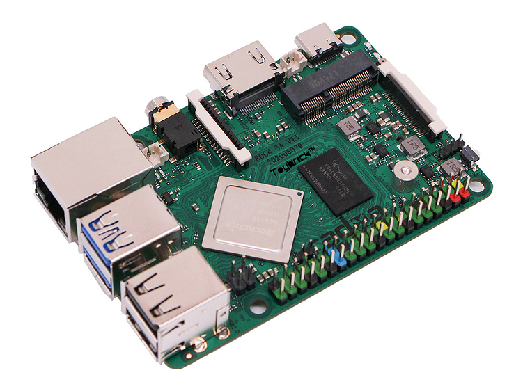 Radxa ROCK 3A SBC Provides Support for the AIoT Market with its Quad-core RK3568