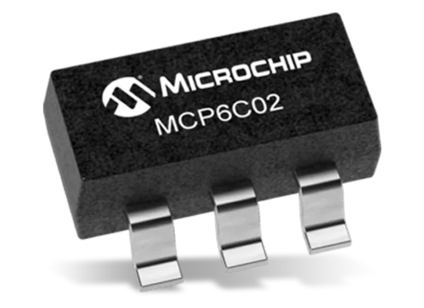 Microchip Technology MCP6C02 High-Side Current Sense Amplifiers