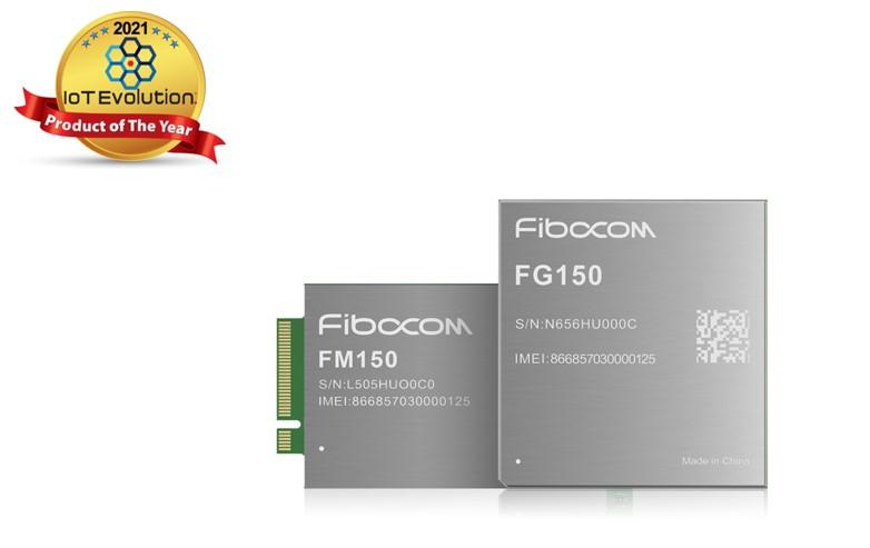 Fibocom Wins 2021 IoT Evolution Product of the Year Award