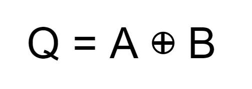 Exclusive OR equation