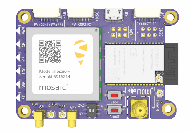GPS/GNSS module receiver now features BLE/WiFi capabilities