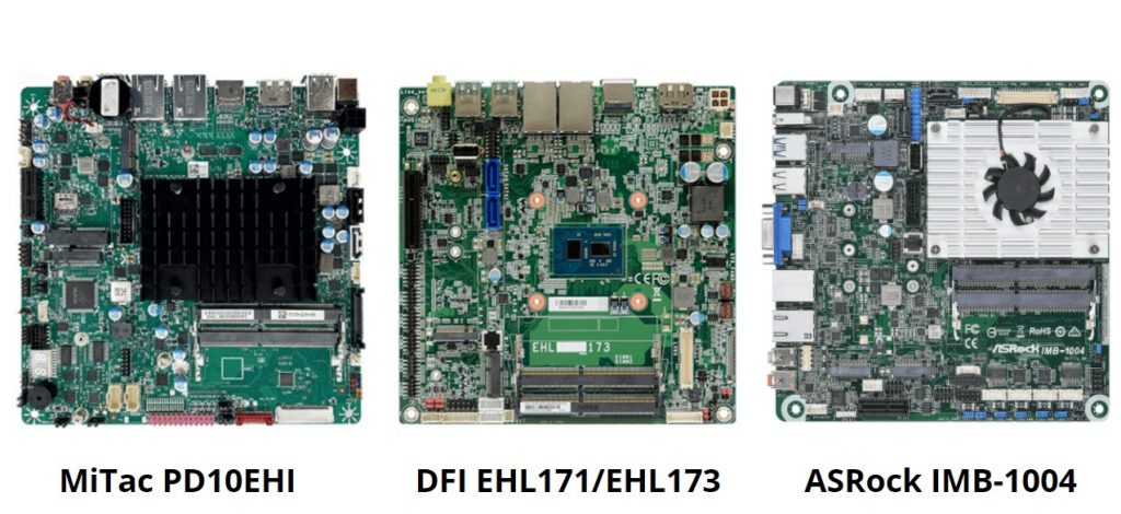 Elkhart Lake Processors Power Thin Mini-ITX motherboards for IoT applications