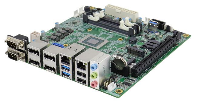 AMD Ryzen Embedded V2000-based MI989 Mini-ITX Motherboard