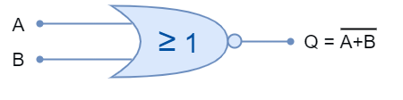 NOR gate symbol