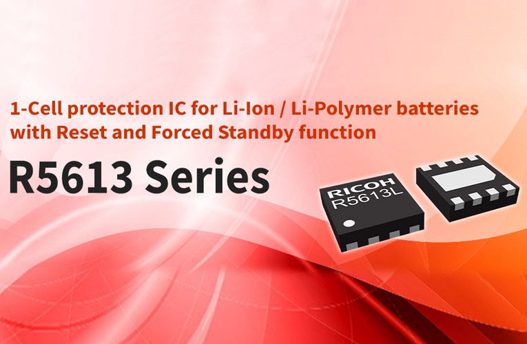 1-Cell Protection IC with Reset and Forced Standby Function for Li-Ion and Li-Polymer Batteries