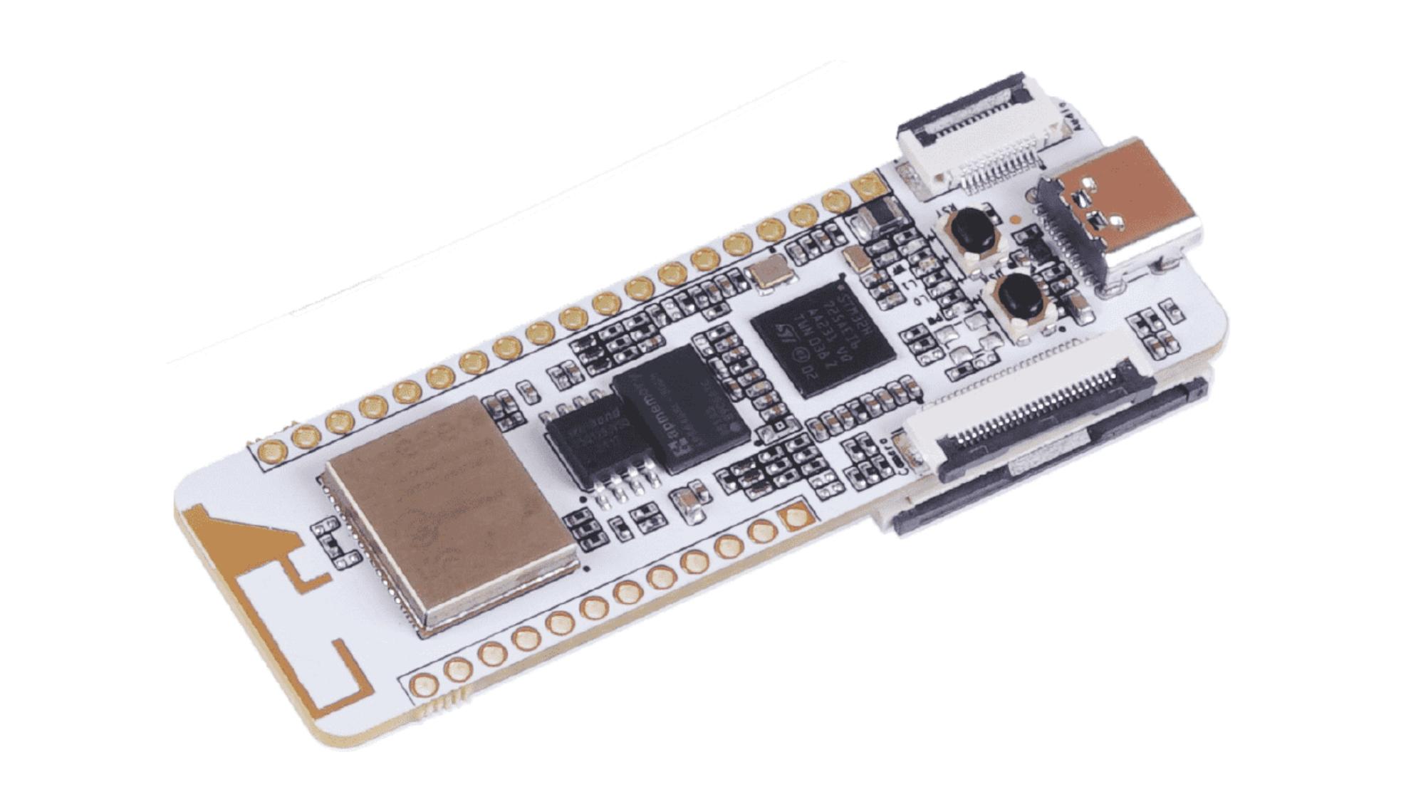 WIO Lite AI – an Stm32h725a Cortex-m7 Board for AI Vision Applications