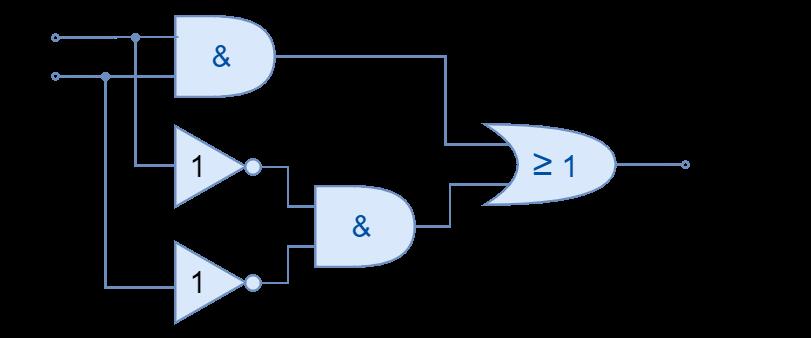 Exclusive NOR logic circuit