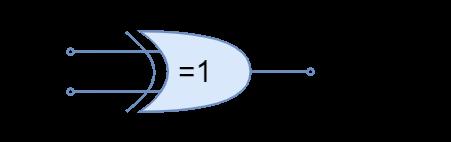 XOR gate symbol