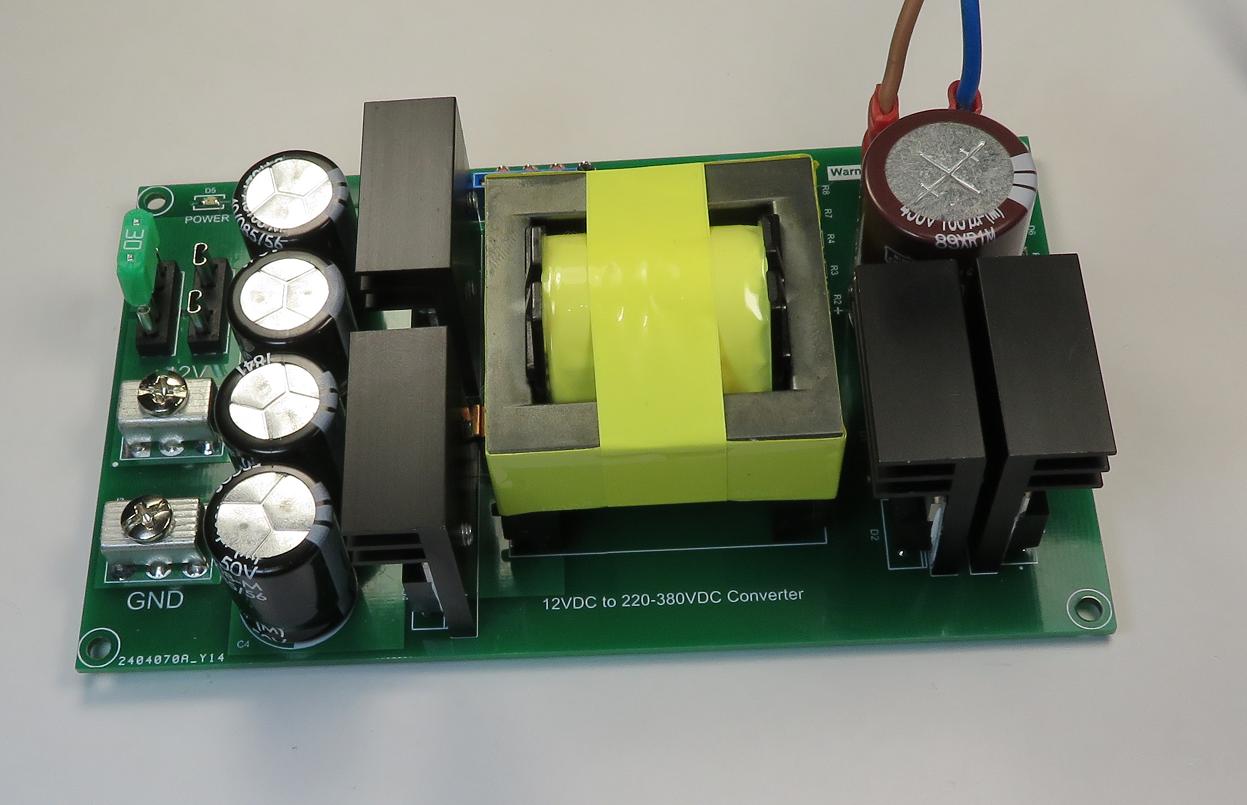12VDC to 220-380VDC Converter