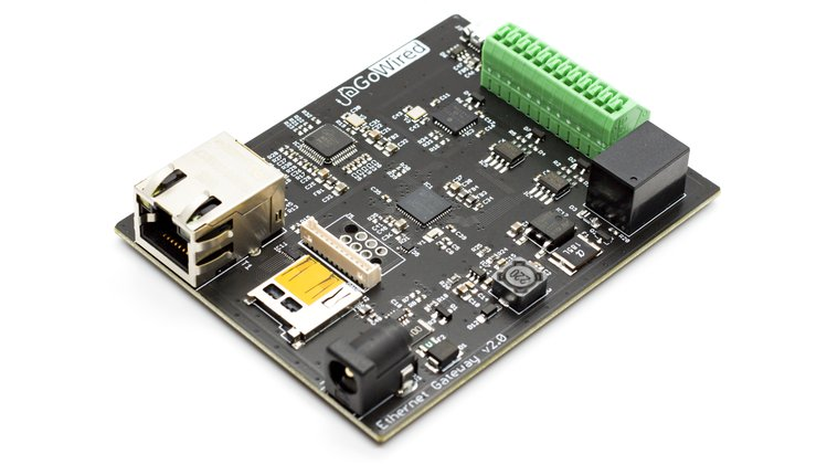 GoWired Multiprotocol Gateway is a Versatile hub for all wired communication