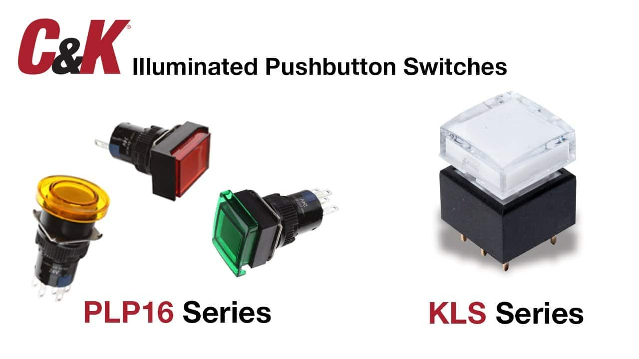 KLS Series Illuminated Pushbutton