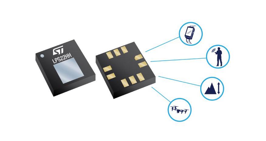 LPS22DF MEMS Nano Pressure Sensor