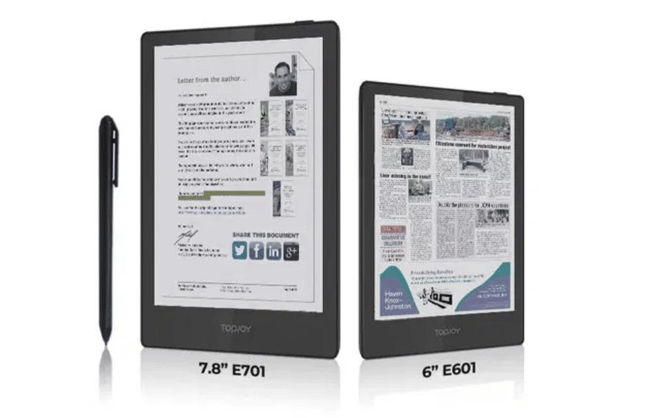 TopJoy Butterfly, a Pocket-Sized True Color DES Screen E-Reader