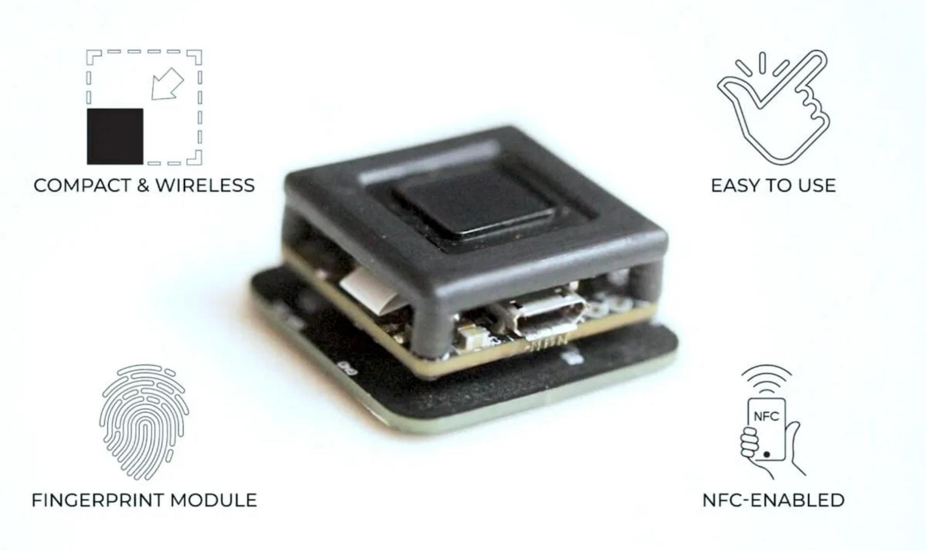 Chhavi – Ultra-Low-Power Fingerprint Sensor Featuring ESP32 SoC