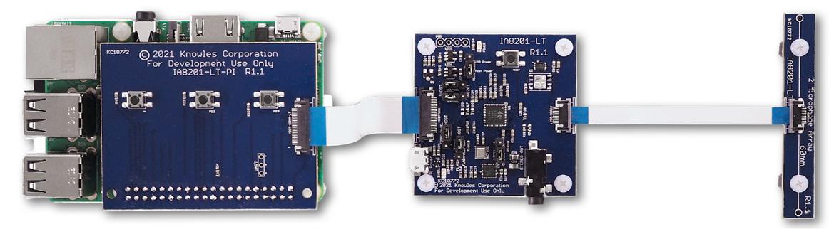 Raspberry Pi MIC array kit features AISonic IA8201 DSP