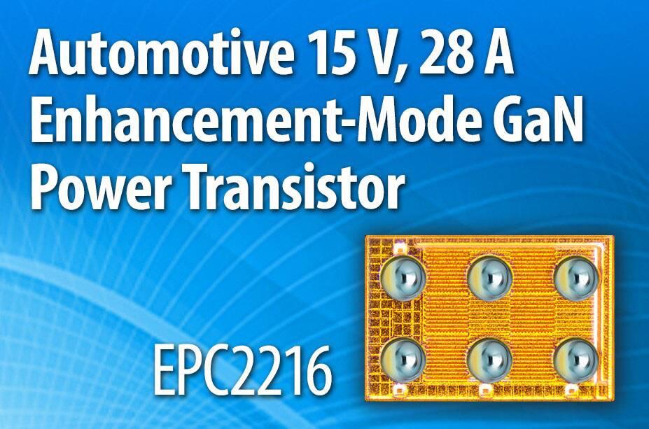 EPC2216 – 15 V GaN Power Transistor