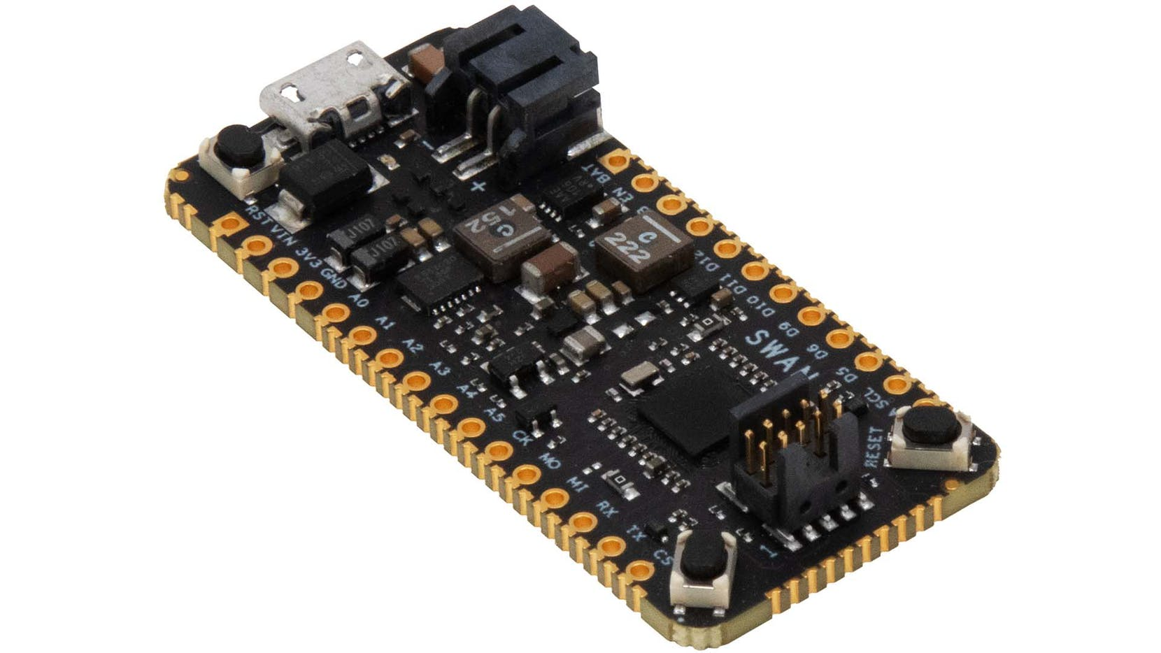 SWAN – Low-Cost, Low-Power Embeddable STM32L4R5-based MCU from Blue Wireless